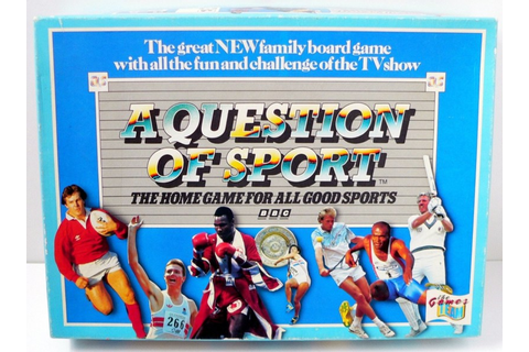 A Question Of Sport - The Games Team (1986) - Retro Toy Box