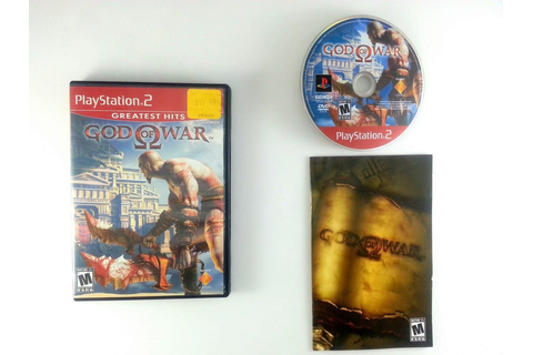 God of War game for Sony Playstation 2 PS2 -Complete | eBay