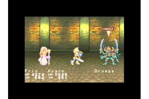 Tales of the World: Narikiri Dungeon 3 (GBA) Secret Bosses ...