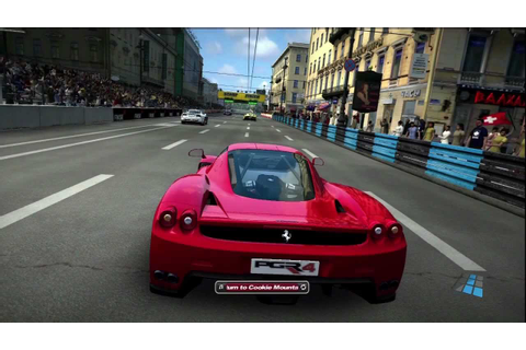 Project Gotham Racing 4 - Ferrari Enzo (Gameplay) - YouTube