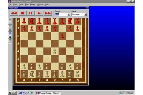 Power Chess 98 - Level 1 - YouTube