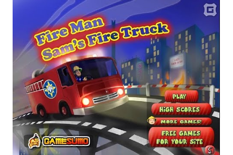 FireMan Sam Fire Truck Car Games Games For Kids - Gry Dla ...