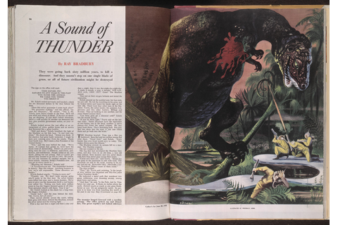 Ray Bradbury 'A Sound of Thunder', first published in Coll ...