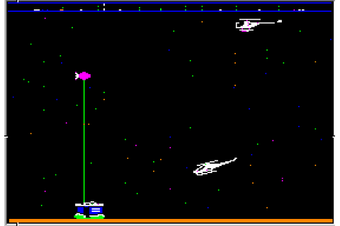 Rescue Raiders (1984) by Sir-Tech Apple II E game