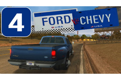 Ford vs. Chevy [HD][PS2] - Stage #4 - Trucks Challenge ...