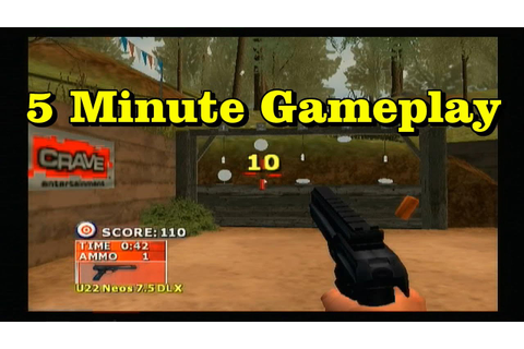 5min gameplay: NRA Gun Club PS2 - YouTube