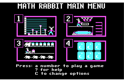Download Math Rabbit - My Abandonware