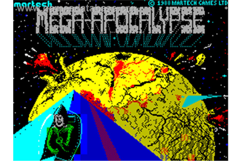 Mega-Apocalypse - Sinclair ZX Spectrum - Games Database