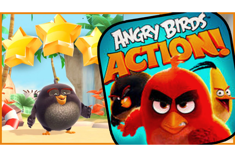 "NEW CHARACTER ""Bomber"" Gameplay - Angry Birds Action Game ..."