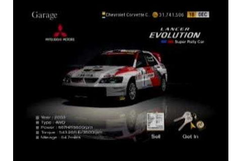 GT4 Power Card Gran Turismo 4 Game Save Data Cars and ...