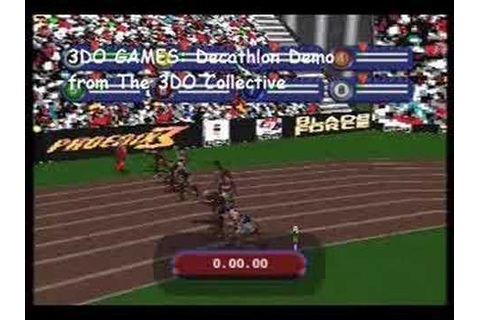 3DO Games Decathlon Gameplay Demonstration - YouTube