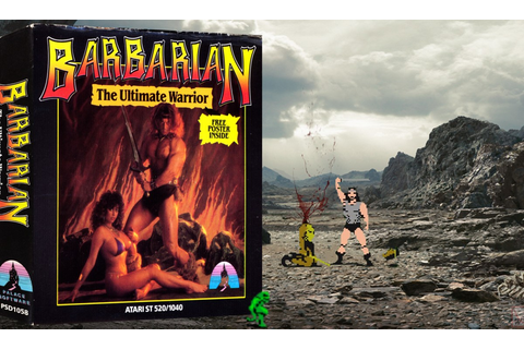 """Barbarian - The Ultimate Warrior"" from Palace Software ..."