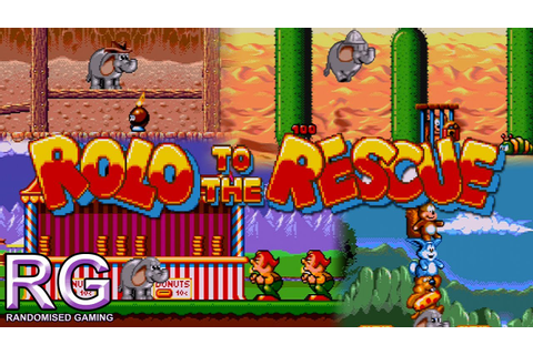 Rolo to the Rescue - Sega Mega Drive - Worlds 1,2,3 and 4 ...