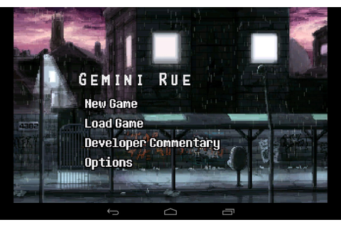 Gemini Rue – Games for Android 2018. Gemini Rue – Exciting ...