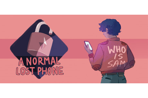 A Normal Lost Phone on Steam