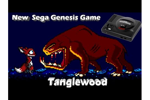 TangleWood - NEW GAME for the SEGA Genesis!!! - YouTube