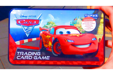 Awesome Cars 2 Trading Card Car Game with Exclusive ...