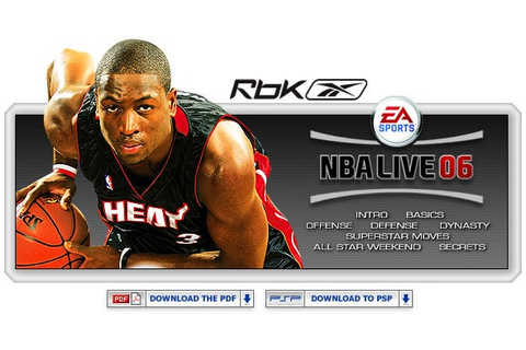 NBA Live 06 - xbox - Walkthrough and Guide - Page 2 - GameSpy