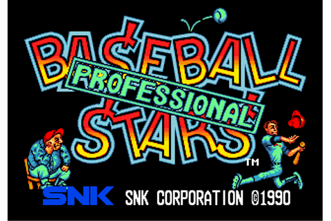 Baseball Stars Professional (NGM-002) ROM Download for ...