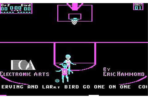 One on One (Irving vs. Bird) Download (1984 Sports Game)