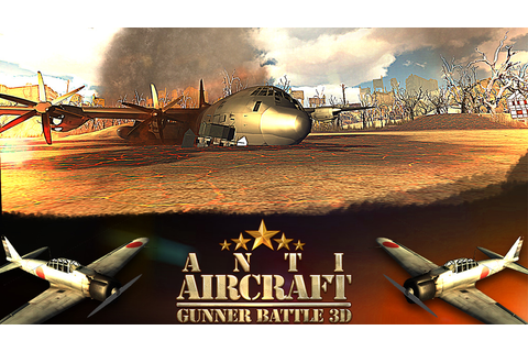 App Shopper: Anti Aircraft Gunner Battle 3D (Games)