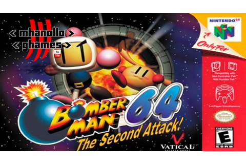 Nintendo 64: Bomber Man 64 - The Second Attack - Abertura ...