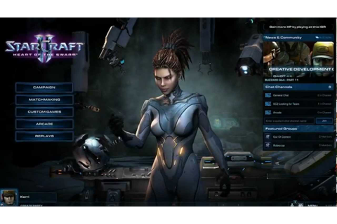 StarCraft 2: Heart of the Swarm campaign gameplay - YouTube