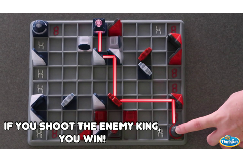 ThinkFun's Laser Chess - It's Chess, but With Lasers ...