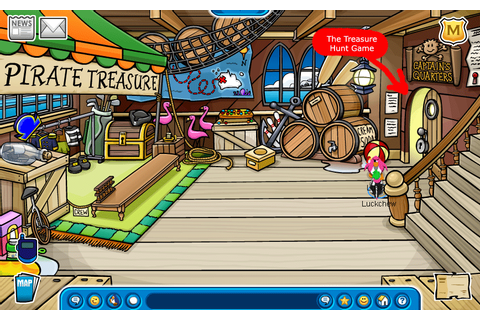 How to Play Treasure Hunt at Club Penguin | Rockout with ...