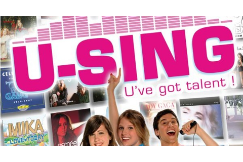 I sing, 'U-SING', we all sing for another Wii Karaoke game ...