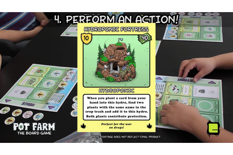 Learn How to Play Pot Farm: The Board Game - YouTube