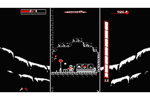Downwell for PS4, PS Vita launches May 24 - Gematsu