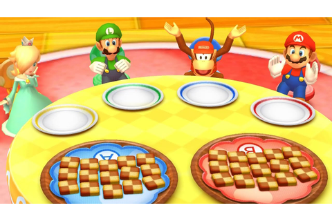 Mario Party: Star Rush - All Minigames - YouTube