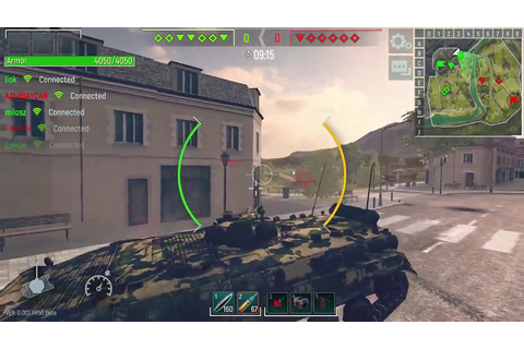 Tank Force Gameplay (Game Pc, Free to Play). - YouTube