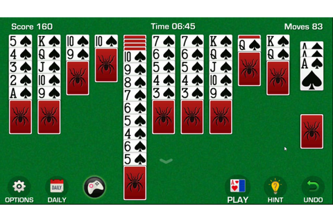 Spider Solitaire for Android by MplayOnline: Free card ...