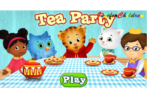 Daniel Tiger's Neighborhood TEA PARTY - Fun Video Games ...