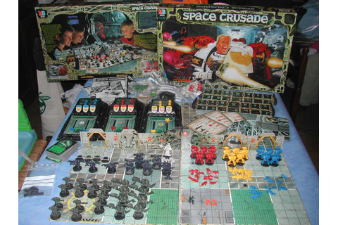 Space Crusade. Another great game I played as a kid ...