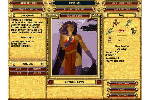 Download Fantasy General strategy for DOS (1996 ...