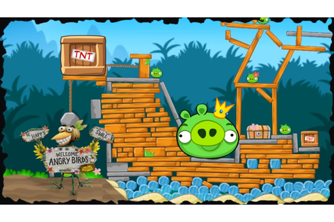 Angry Birds: Bird Island Mobile Game All Levels - YouTube