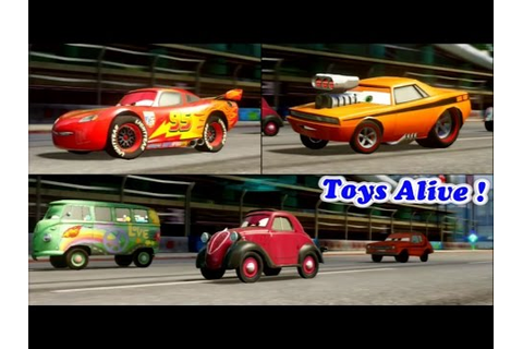Cars 2 Game Play - 3 Players Battle Race 3 - YouTube