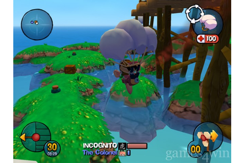 Worms 3D Download - Games4Win