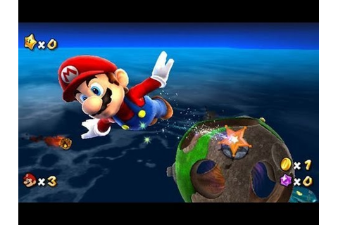 Super Mario Galaxy Full Walkthrough/Gameplay Wii HD 1080p ...
