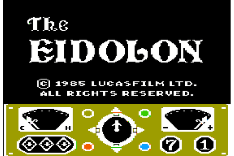 Download The Eidolon (Amstrad CPC) - My Abandonware