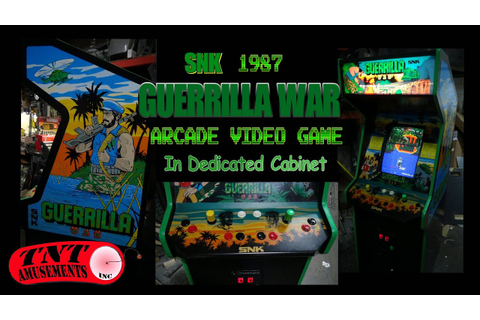 #1029 GUERRILLA WAR Arcade Video Game by SNK in Dedicated ...