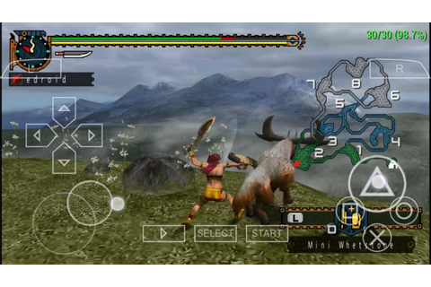 280 MB Monster Hunter 2 Freedom PPSSPP Game Highly ...