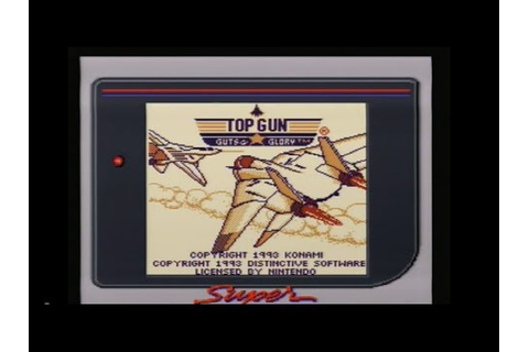 Top Gun: Guts & Glory (Game Boy) - AC and Rob give-it-a-go ...