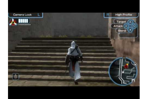 Assassins Creed Bloodlines Gameplay for PSP - YouTube