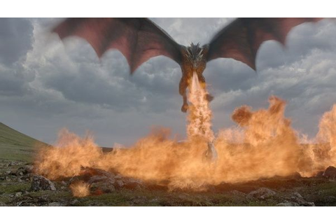 Did the Ice Dragon from Game of Thrones spit fire? - Quora