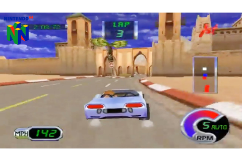 Cruis'n Exotica (Nintendo 64 Gameplay) - YouTube