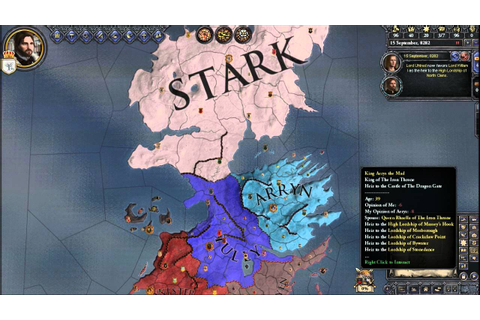 Crusader Kings 2: A game Of Thrones Mod... My Thoughts ...